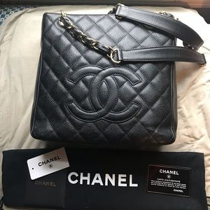 Authentic CHANEL Petite Shopping Tote